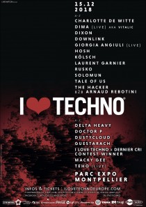 I Love Techno 2018